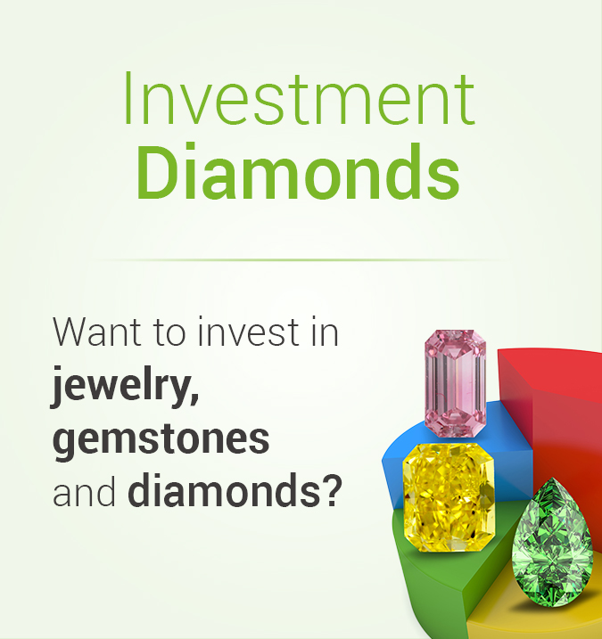 Investment Diamonds Banner: Invest in Jewelry, gemstones, and Diamonds
